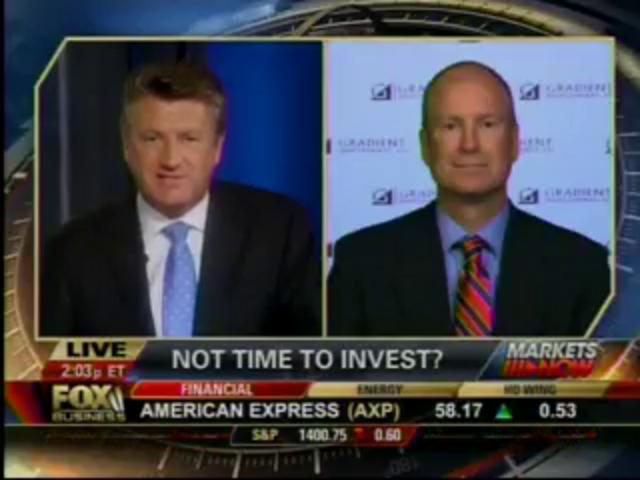 Michael Binger on Fox Business 8/8/12