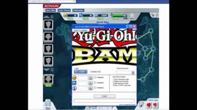 Yu Gi Oh Bam Hack
