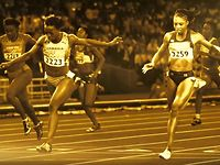 Visa Olympics 2012: Allyson Felix 1st Gold Congratulatory