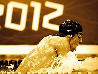 Visa Olympics 2012: Michael Phelps 19 Medals Decorated Congratulatory