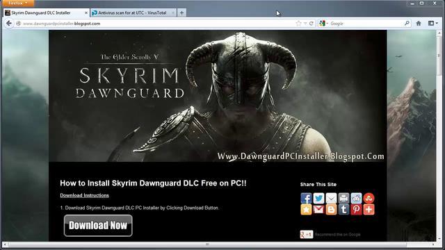 Skyrim Dawnguard Dlc Free