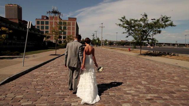Sara + John - Wedding Highlights Marcy Casino - Buffalo,  NY