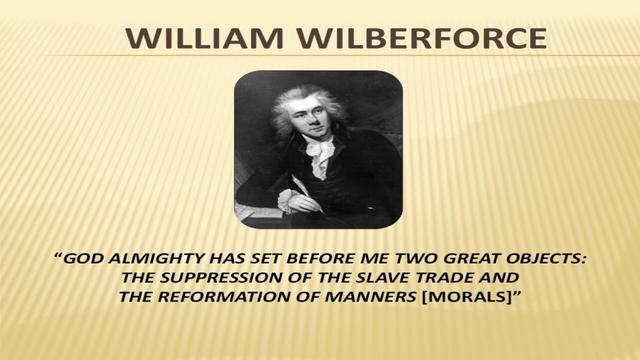 William Wilberforce act