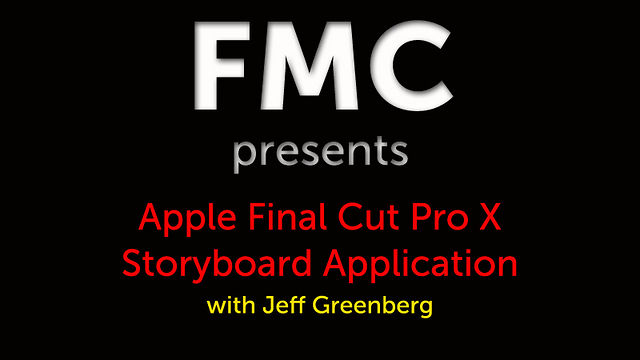 FCP X Storyboard Application