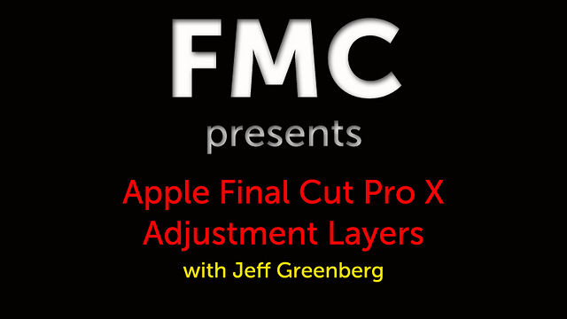 Adjustment Layers in FCP X