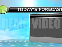 Weather 2 – Today's Forecast Stock Animation