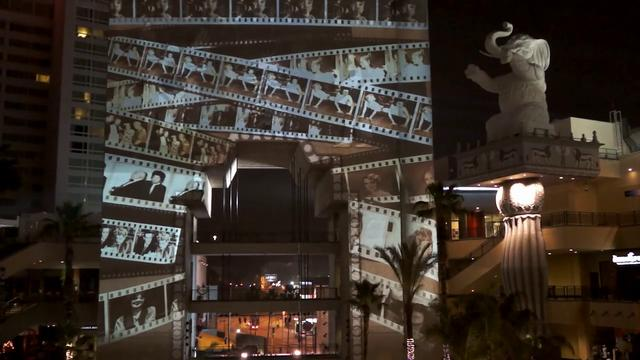 Hollywood and Highland Pow wow Arch Projection Mapping