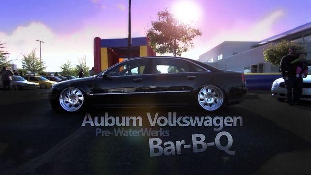 Auburn Wolkswagen   Pre WaterWerks Bar-B-Q