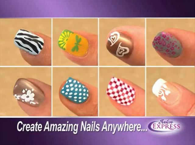 Nail Art Design As Seen On Tv