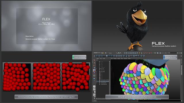 Flex for Autodesk's Maya