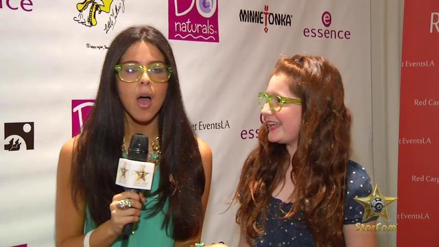 Emma Kenney, Teala Dunn, Bret Lockett, and Victor Ortiz at RSVP Teen Choice Awards Gift Suite - YouTube