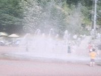 10th Kino movie; Fountain  at Gossi Cave Square. (00:10)