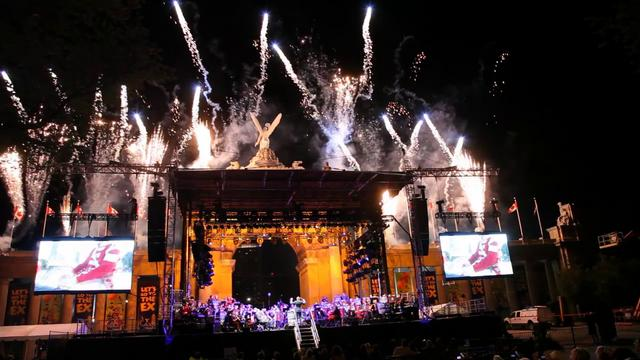 Canadian Forces Musical Salute to the War of 1812 at the CNE