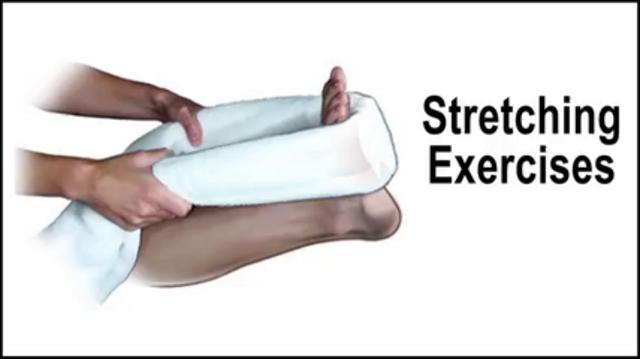 Heel Pain Stretching Exercises - Podiatrist in Midtown ...
