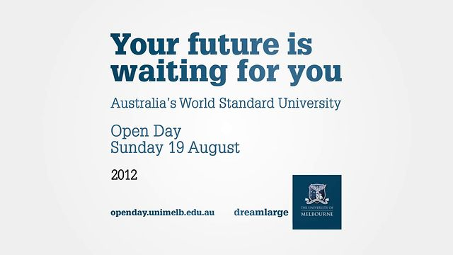 University of Melbourne's 2012 Open Day