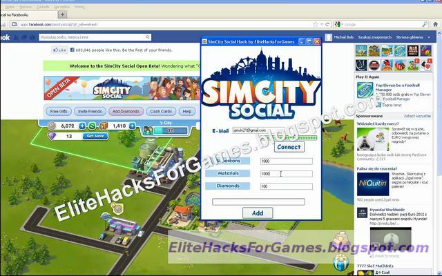 SimCity Buildit Hack Tool