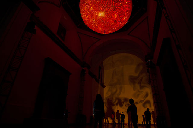 &quot;Nave Solar&quot; at Laboratorio Arte Alameda (2011) by Rafael Lozano-Hemmer