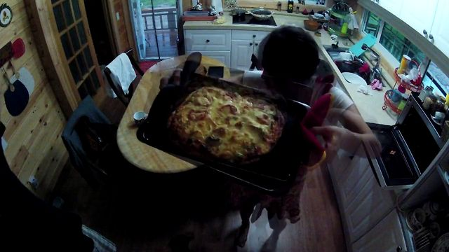 2012.08.15 Make a PIZZA Time lapse