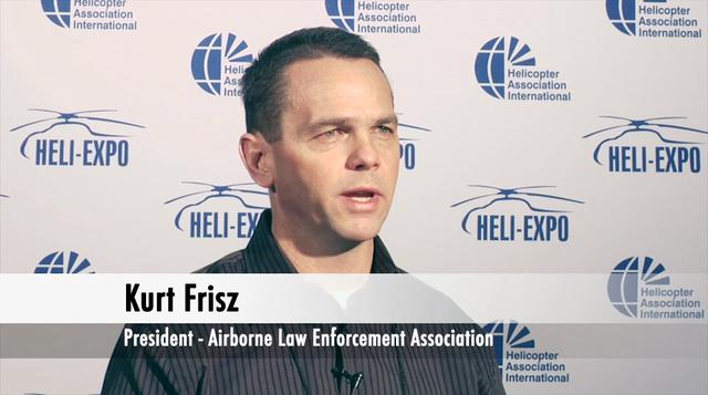 Interview with Kurt Frisz – President, Airborne Law Enforcement Association