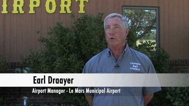 Interview with Earl Draayer – Airport Manager, Le Mars Municipal Airport