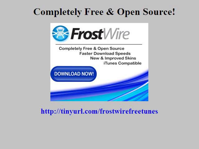 how to use frostwire with itunes