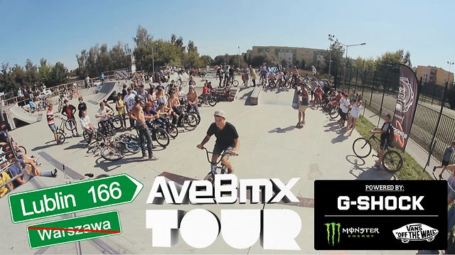 AVE BMX TOUR 2012 powered by G-SHOCK: Lublin trip