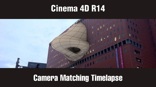 cinema 4d r14 camera matching timelapse on vimeo. Black Bedroom Furniture Sets. Home Design Ideas