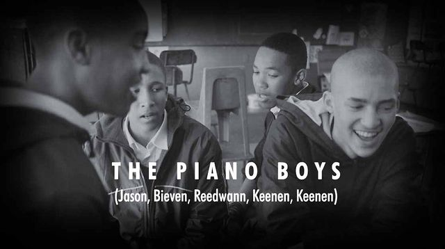 Pangaea-Geberit South Africa School Project 2012 - The Piano Boys