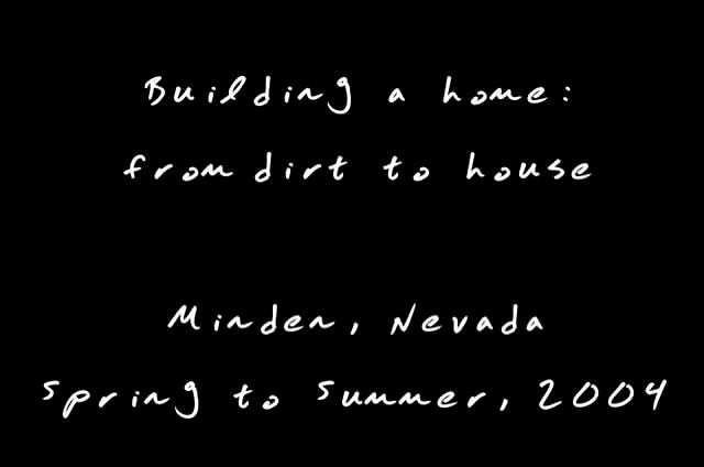 Building A Home From Dirt To House
