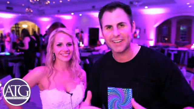 Wedding DJ Charlotte NC Entertains Wedding Guests At The Stuppiello Wedding Reception