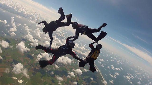 Open Nederlandse Kampioenschappen Parachutespringen 2012