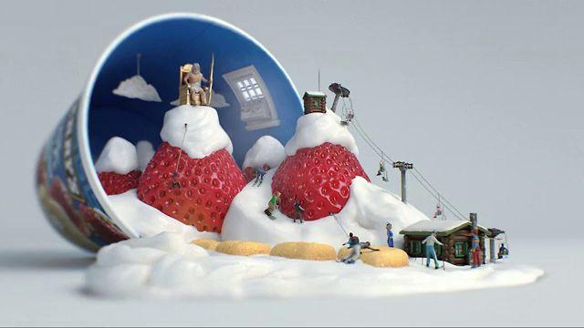 【Ben & Jerry's - 草莓口味廣告小動畫】【Ayae】