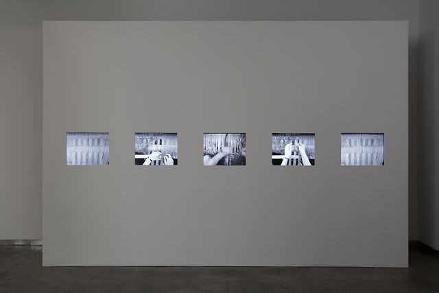 """Text and Commentary"" at bitforms gallery nyc (2012) by Beryl Korot"
