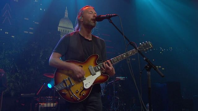 "Radiohead on Austin City Limits ""Morning Mr Magpie"""
