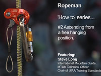 Wild Country Ropeman How To #2 - Ascending from a free hanging position