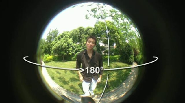 how to make a 360 degree picture
