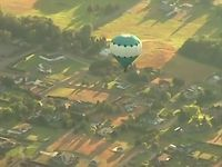 Hot air balloons over Dungeness Valley