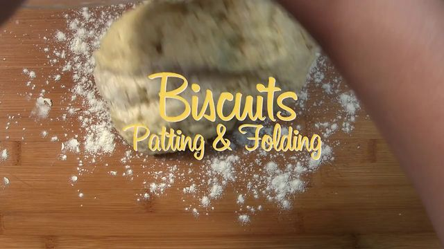 Biscuits and Shortcakes, Patting and Folding