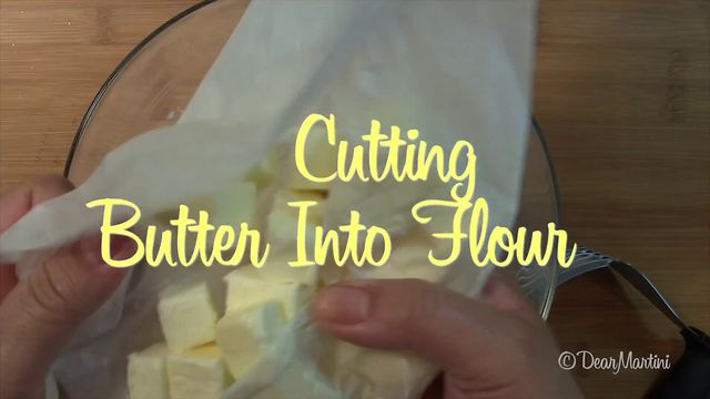 Cutting Butter & Flour