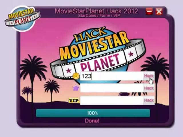 Movie Star Planet Passwords VIP