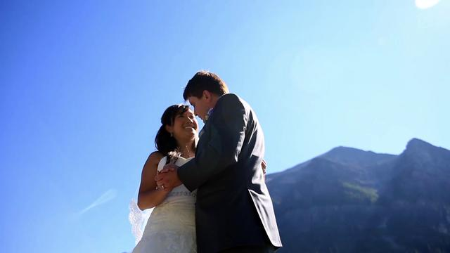 Nail & Amy  Lake Louise Wedding Highlight