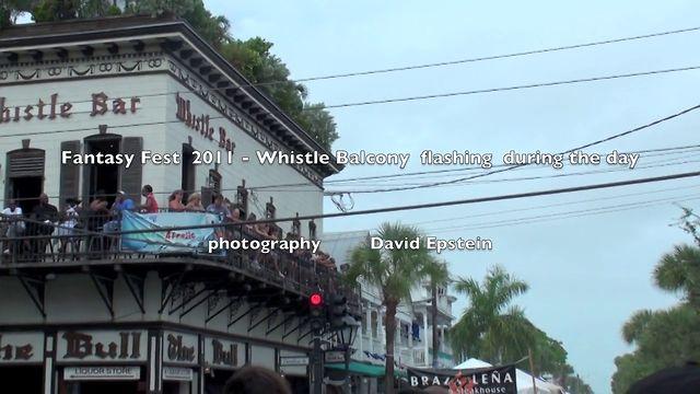 Fantasy Fest 2011 -   balcony flashing   18+++