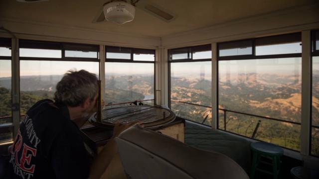 A Day in the Life of a Fire Lookout.