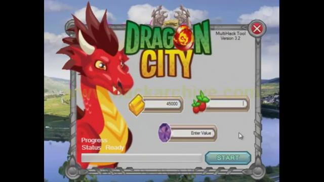 Dragon City Hack Tool 2012