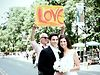 Real Wedding in NYC: Alix + Steven