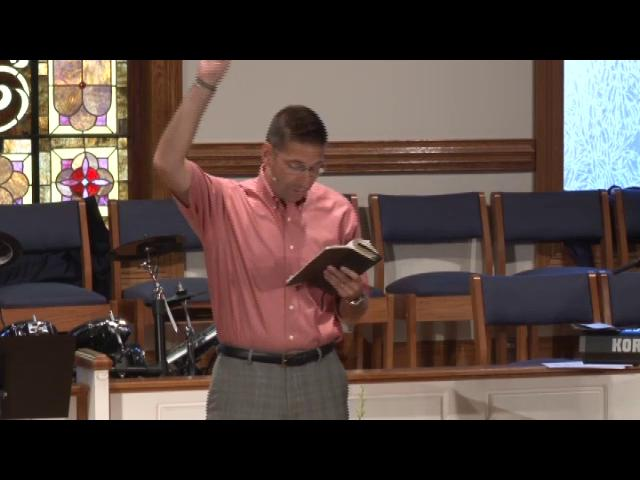 "Blind Spots, Week 2: ""Blinded by Stuff,"" - September 6, 2012 Sermon"