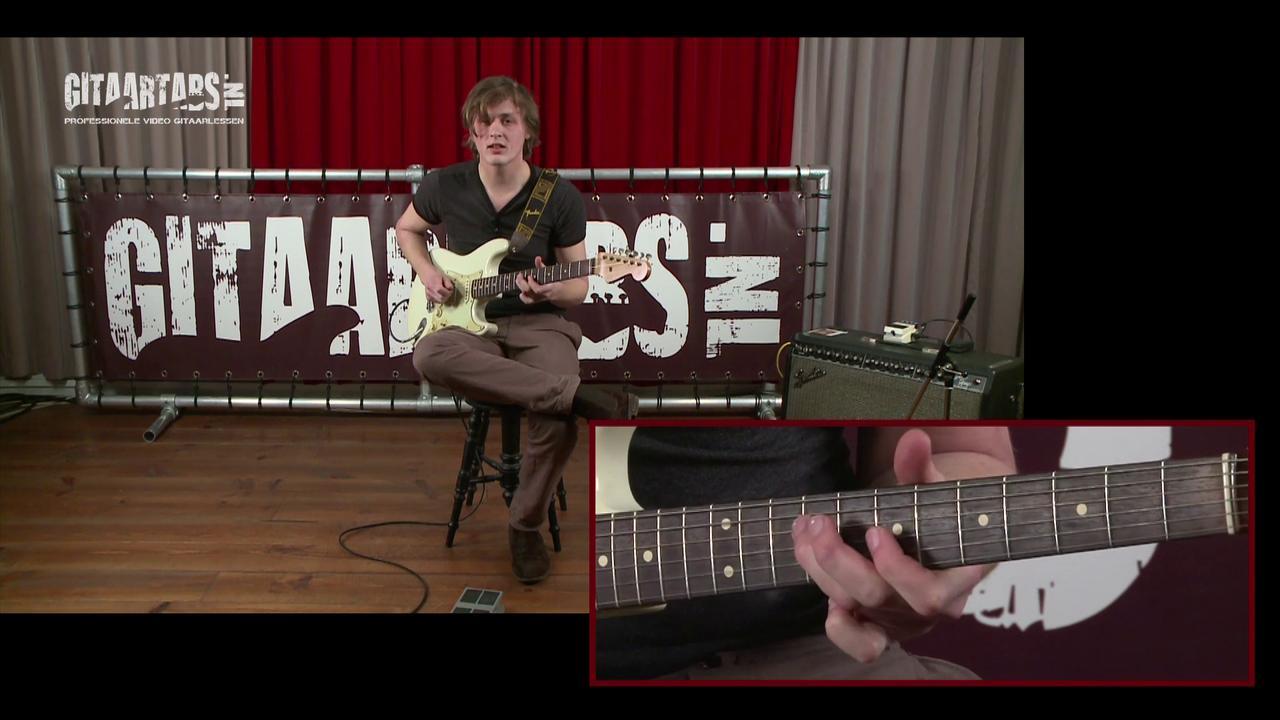 Vrij meespelen op je gitaar deel 5