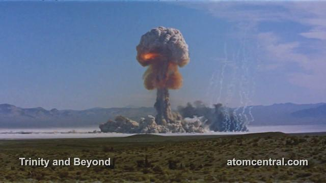 Nuclear Explosions. Trinity and Beyond. Full HD.