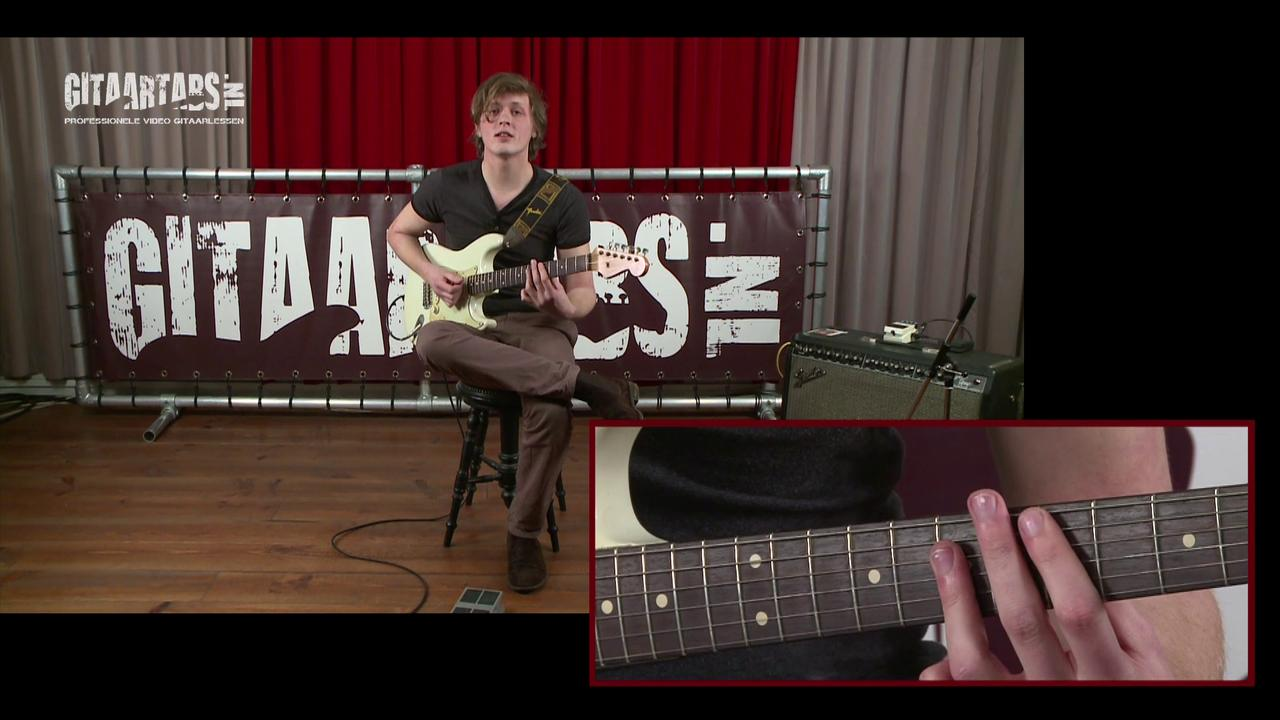 Vrij meespelen op je gitaar deel 6
