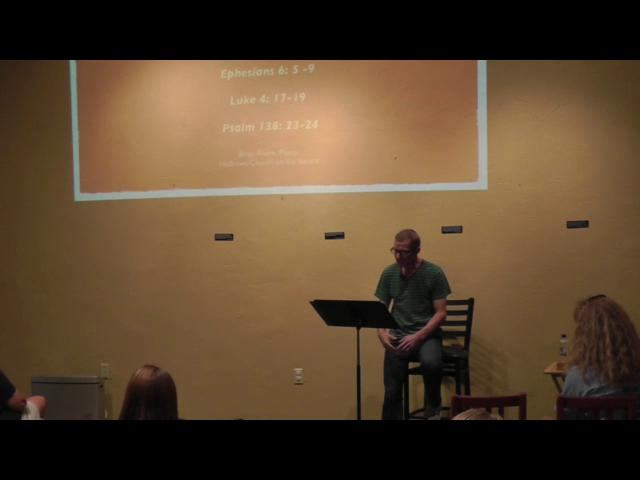 "Blind Spots, Week 1, ""Three-Fifths of a Person"" - August 30, 2012 Sermon"